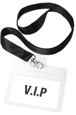 Badge or V.I.P pass