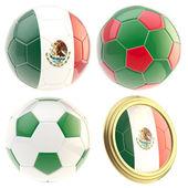 Mexiko fotbalový tým atributy izolované