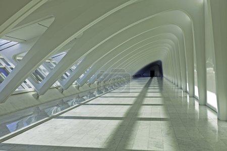 Photo for Modern Corridor Full Of Shadows - Royalty Free Image