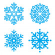 Snowflakes collection. Element for design. Vector ...