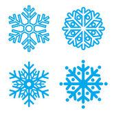 Symbol snowflakes Vector