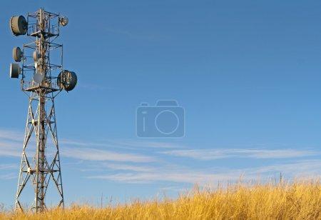 Transmitter tower