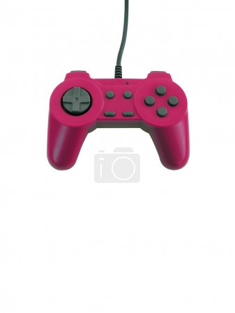 Game controller with clipping path
