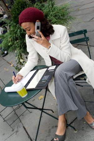 Mobile Career Woman