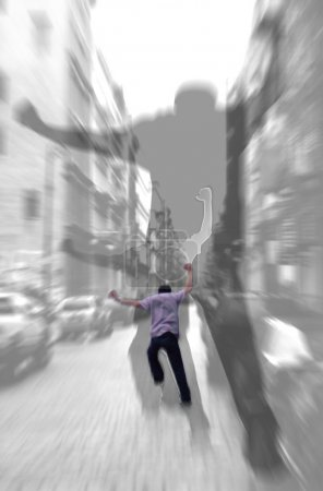 Run Away - Abstract Shadows