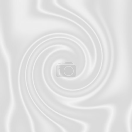 weißer Schokoladen- oder Milchwirbel - cremig
