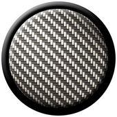 Carbon fiber button