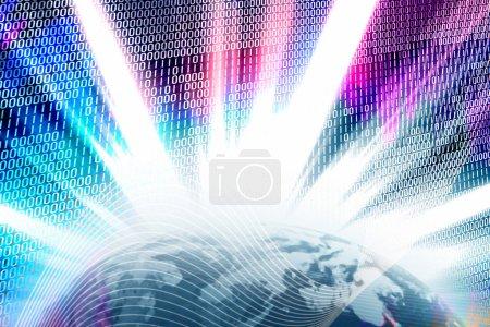 Binary World Wide Web Globe