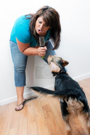Singing to the Dog