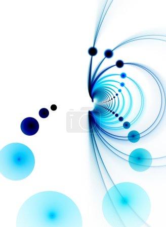 3D Blue Chasm