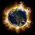Постер, плакат: Exploding Earth