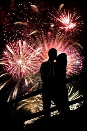 Fireworks Couple