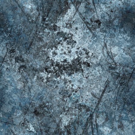 Photo for Worn stone or metal material texture with gash marks and scratches that tiles seamlessly as a pattern in any direction. - Royalty Free Image