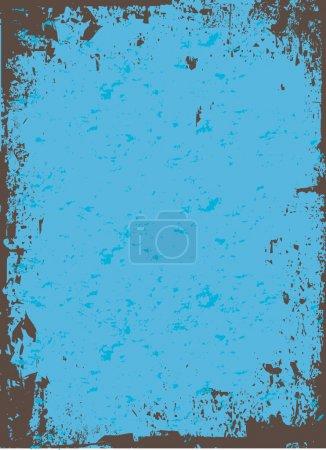 Blue Grunge Vector