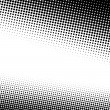 A black and white halftone background with plenty ...
