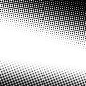 A black and white halftone background with plenty of copy space in vector format