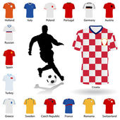 Euro 2008 soccer uniform