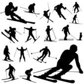 Set of ski