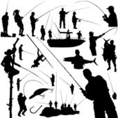Fishermen and fishing equipment