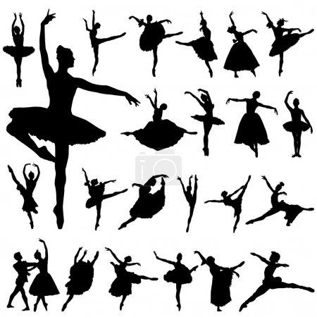 Ballerina and ballet