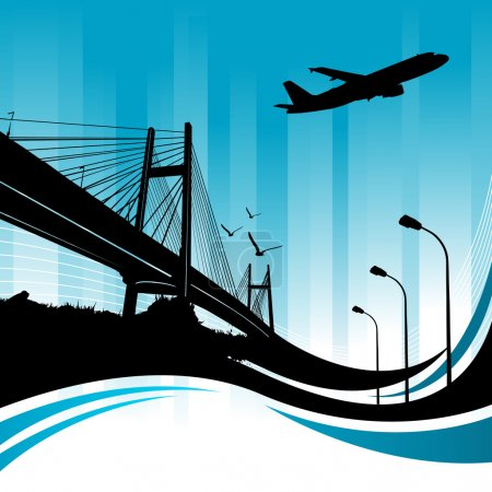 Illustration for City design vector - Royalty Free Image