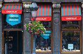 Belgian chocolate store