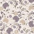 Floral seamless pattern, vector design...