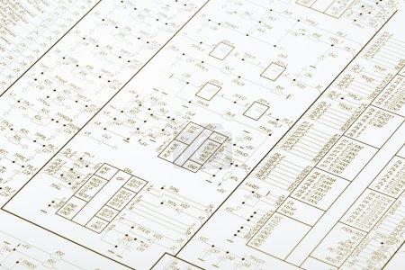 Zeichnung elektrischer Schaltung