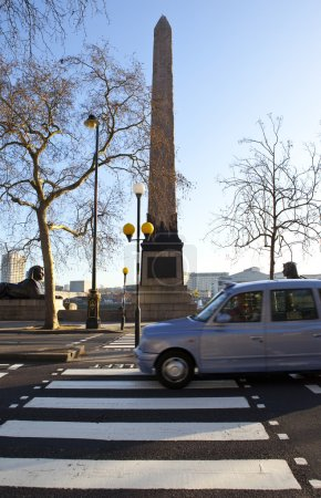 Cleopatra's Needle on London Embankment