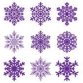 Decorative snowflake Vector illustration