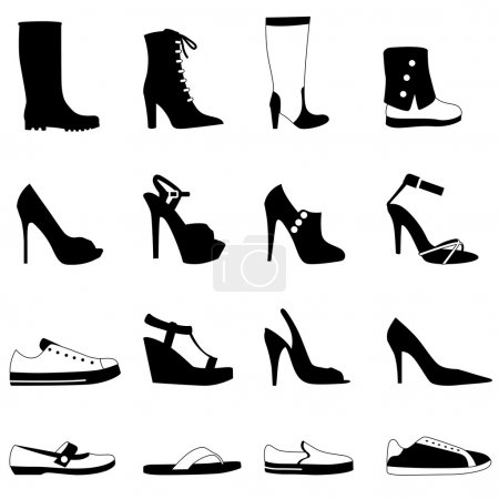 Fashion woman shoes