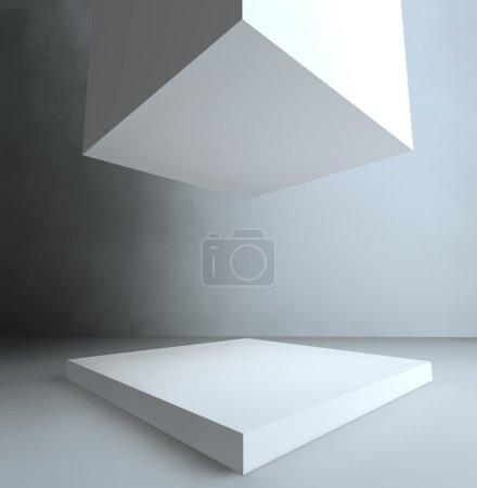 Showcase, 3d exhibition space