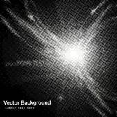 Abstraktní vektorová polotónování pozadí