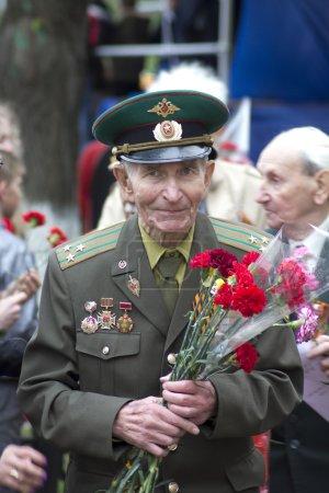 Photo pour Le 9 mai Festival - fête de la victoire sur l'Allemagne nazie - image libre de droit