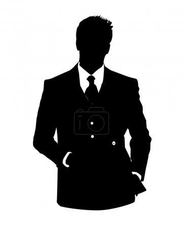 Office avatar man