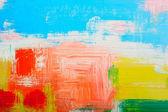 Abstraktní pozadí narýsované olejové barvy