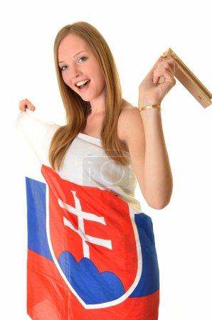 Sexy slovakian fan