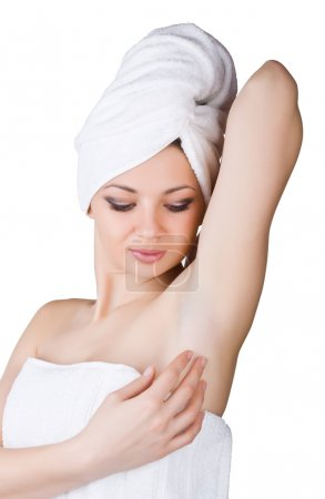 Skin care of female armpit