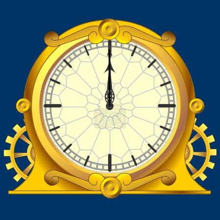 Vintage magic clock