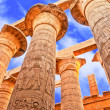 Great Hypostyle Hall and clouds at the Temples of ...