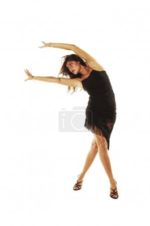 Photo for Sexy woman dancing in heels - Royalty Free Image