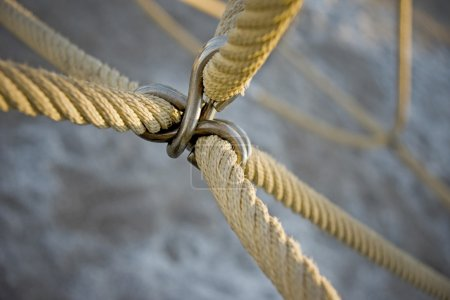 Attached ropes