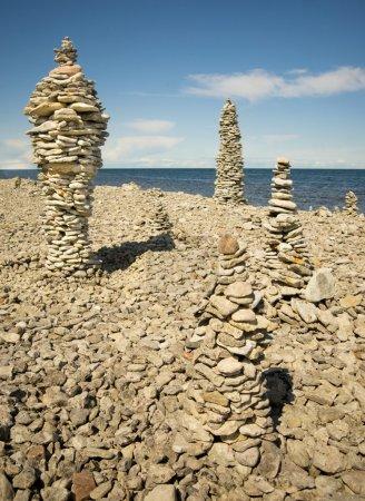 Piles of rock