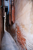 Narrow alley in Venice