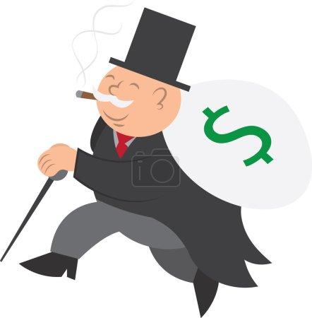 Money Man Running