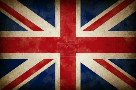 Great Britain Old Grunge Flag