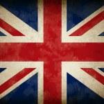 Grunge Great Britain Flag as an old vintage Britis...