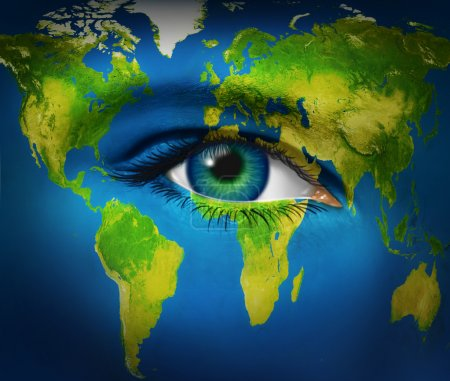 Human Eye Earth Planet