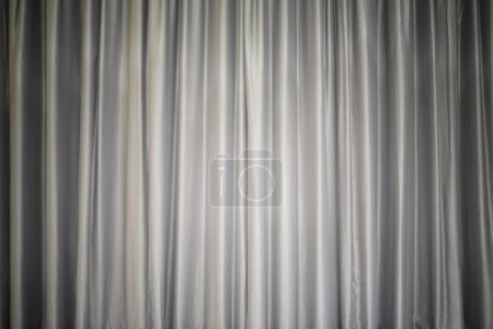 Grey curtain