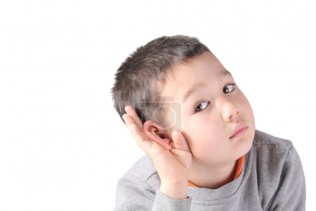 Child is listening